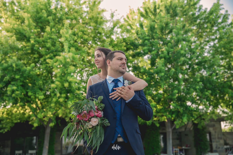 reportatge de boda a Mas Passamaner