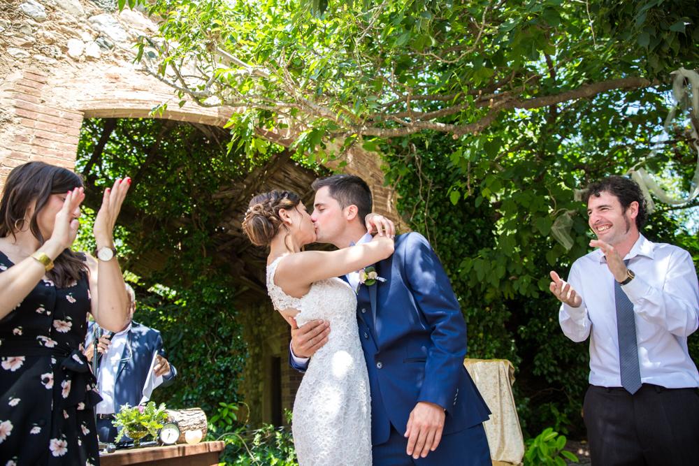 Reportetatge de boda al Fortí del Rourell