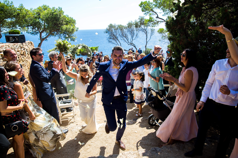 video de boda al convent de blanes