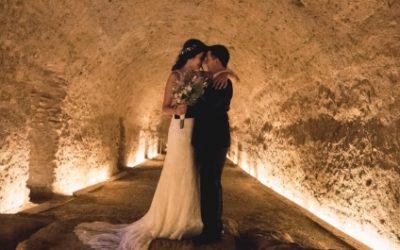Reportaje de boda en La Boella: Helena y Carlos se casan en Tarragona