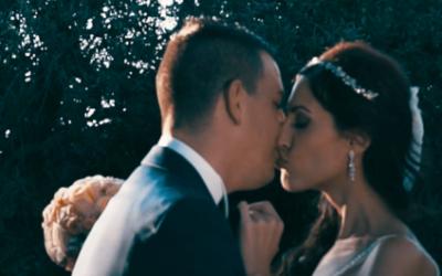 Vídeo de boda completo en l'Orangerie: Romina y Morales se tatuan su amor