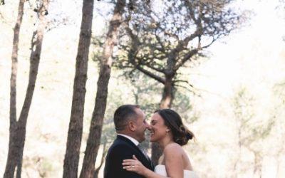 Boda de otoño en Castell Tallat: el sí quiero de Sandra y David