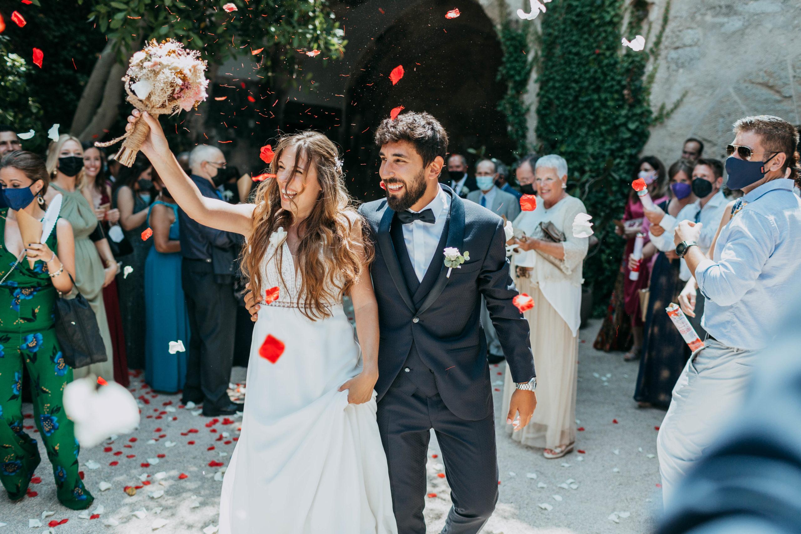 Sergi y Gemma, Reportaje de boda en el Castell de Tamarit